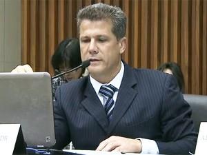 Presidente da Câmara de Vereadores de Belo Horizonte, Léo Burguês (PSDB). (Foto: Reprodução/TV Globo)