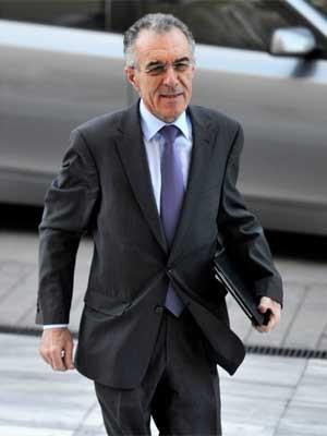 Vassilis Rapanos, em foto de quinta-feira (21) (Foto: AFP)