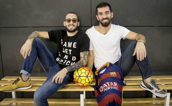 Aleix Vidal Arda Turan Barcelona blog (Foto: Getty Images)