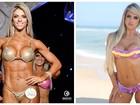 Roberta Zuniga mostra corpo antes e depois: 'Cansei de ser grandona'
