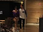 Juliana Paes tem noite romântica com o marido no Rio