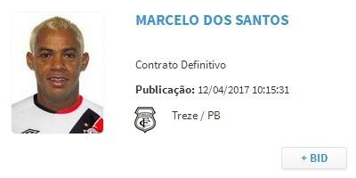 Marcelinho Paraíba, BID, Treze (Foto: Reprodução / CBF)