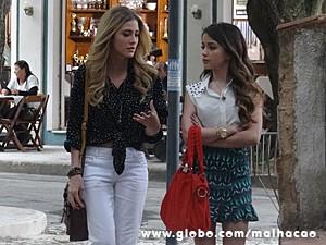 Sofia se abre com sua BFF Flaviana (Foto: Malhação / TV Globo)