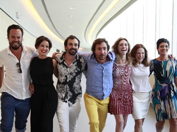 A Teia é a nova série da Rede Globo (Foto: Ellen Soares/TV Globo)