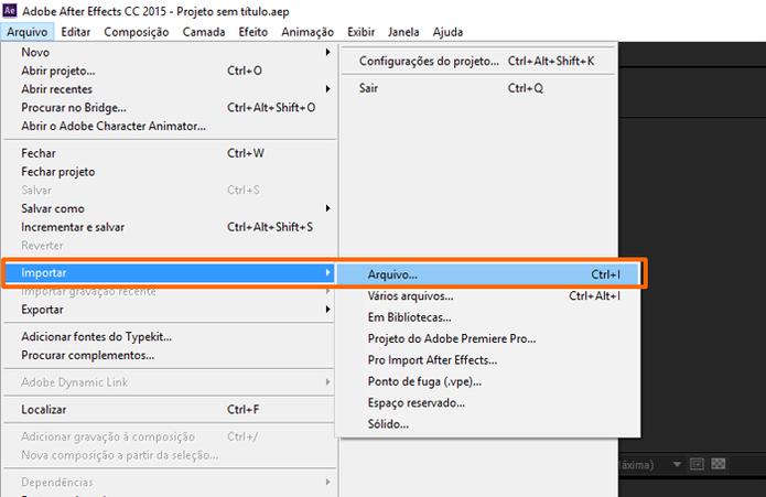 O atalho do teclado para essa ação é ctrl+I. (Foto: Reprodução / Gabriel Galli)