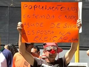 Proposta não foi aceita pelos grevistas (Foto: Reprodução / TV TEM)