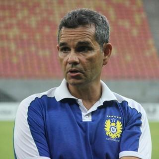 Álvaro Migueis, treinador do Nacional (Foto: Marcos Dantas)