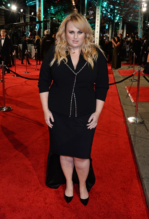 Rebel Wilson no BAFTA (Foto: Getty Images)