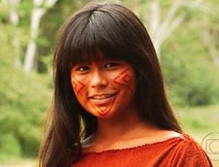 Eunice Baía em 'Amazônia' (Foto: Divulgação/TV Globo)