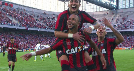 Gol do Atlético-PR!
