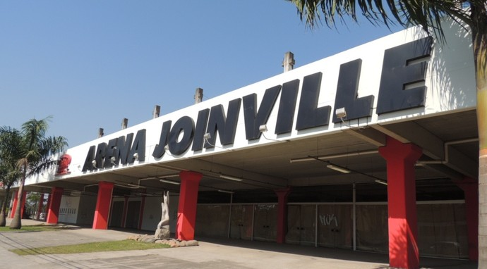 Arena Joinville (Foto: Renan Koerich)