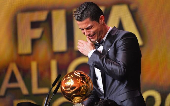 Cristiano Ronaldo, bola de ouro da FIFA (Foto: Getty Images)