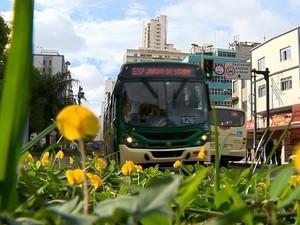 Ônibus Juiz de Fora (Foto: Reprodução/TV Integração)