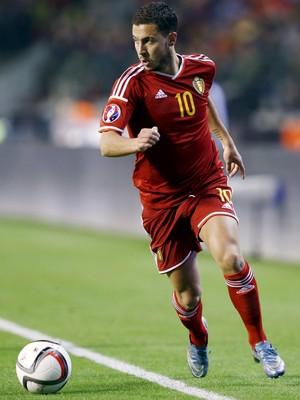 Hazard - Bélgica  - Eliminatórias da Euro (Foto: Reuters)