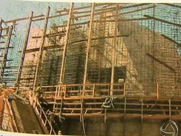 Usina demorou mais de 10 anos para ser construída (Foto: Reprodução/ TVCA)