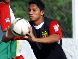 Thiago Miracema estava emprestado ao Litex Lovech (Foto: Divulgação/Raimundo Paccó)
