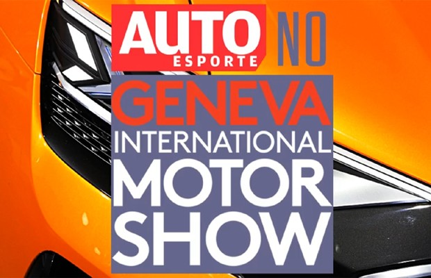 Autoesporte no Salão de Genebra (Foto: Autoesporte)