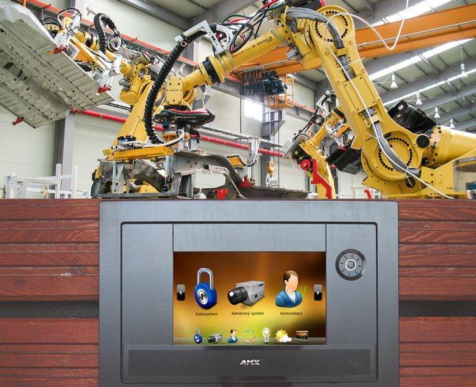 A automação surgiu na indústria, está ficando cada vez mais digital e está nas casas agora (Foto: Wikimedia Commons)