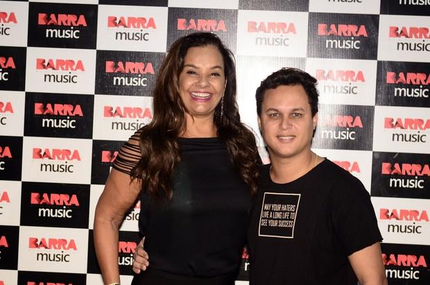 Solange Couto ao lado do marido, Jamerson Andrade (Foto: Roberto Teixeira/EGO)