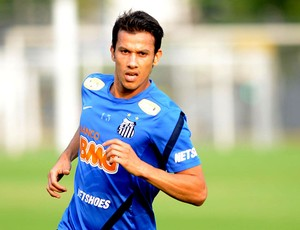 henrique santos treino (Foto: Ivan Storti / Site Oficial do Santos)