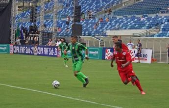 União marca no último minuto, vence Cuiabá e respira na Copa FMF Sub-21