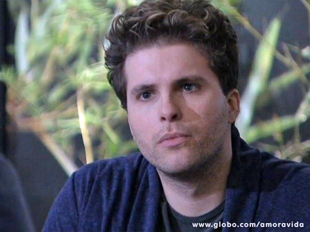 Niko quer saber a verdade de Eron (Foto: Amor à Vida/TV Globo)