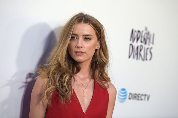 A atriz Amber Heard (Foto: Getty Images)