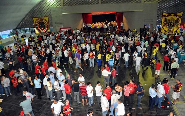 eleiçao sport (Foto: Aldo Carneiro / Pernambuco Press)