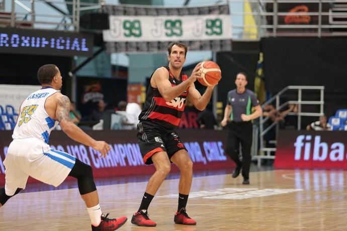 Marcelinho Machado, Correcaminos x Flamengo, Liga das Américas, basquete (Foto: Jose Jimenez-Tirado/FIBA Americas)