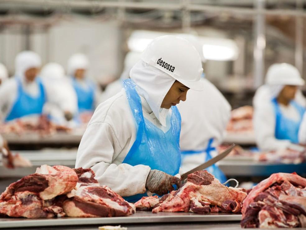 EUA suspenderam a importação de carne bovina brasileira (Foto: Divulgação/Abiec)