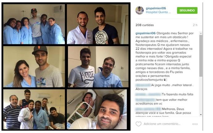 Instagram Giovanni Fluminense (Foto: Reprodução)