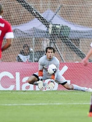 Muriel, goleiro do Inter (Foto: Alexandre Lops / Inter, DVG)