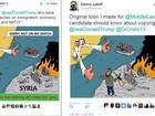 Donald Trump compartilha cartum modificado de brasileiro no Twitter