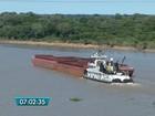 Barcaças se soltam no rio Paraguai e Marinha vai investigar em MS