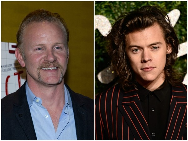 Morgan Spurlock e Harry Styles (Foto: Getty Images)