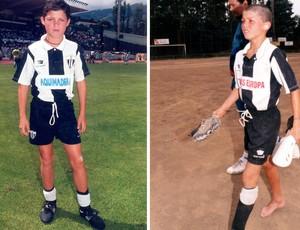Cristiano Ronaldo no Nacional (Foto: Arquivo Pessoal)