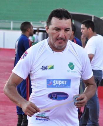 Zacarias Lopes, presidente do Náuas-AC (Foto: Manoel Façanha)