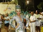 Quitéria Chagas brilha em desfile do Império e conta: 'Perdi 40 quilos'