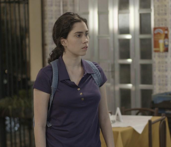 Débora diz que não vai deixar Cassandra dar o golpe do baú (Foto: TV Globo)