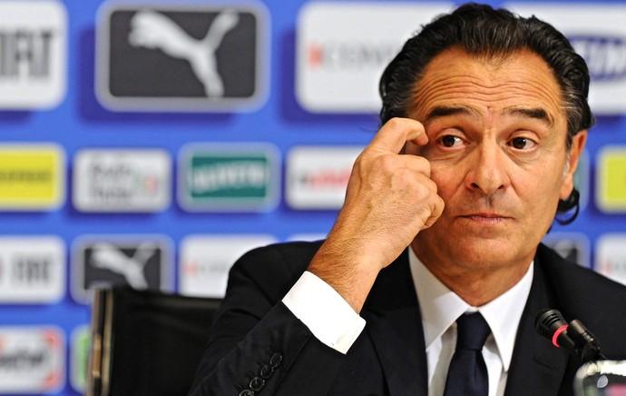 Itália Coletiva técnico Cesare Prandelli (Foto: Efe)