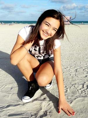 Nina Negre tem 18 anos (Foto: Divulgação)