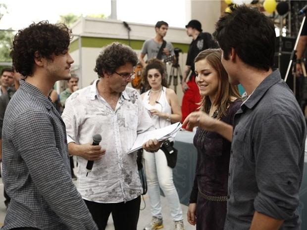Prates, Wegmann, Leicam  (Foto: Malhação / TV Globo)