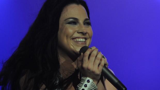 Evanescence tocou 13 músicas no último dia do Rock in Rio (Foto: Flavio Moraes/G1)