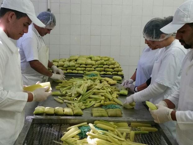 Empreendedor investe em pamonha (Foto: Humberto Azenha/Arquivo Pessoal)