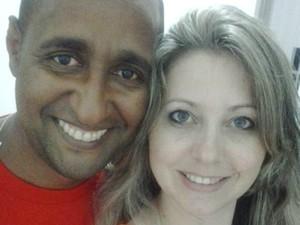 Foto casal Willian e Deiviane (Foto: Reprodução/Facebook)