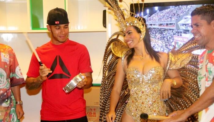 Lewis Hamilton Grande Rio