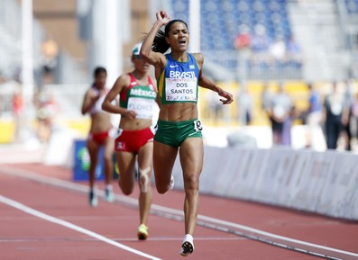 Juliana dos Santos atletismo Pan (Foto: Erich Schlegel-USA TODAY Sports)