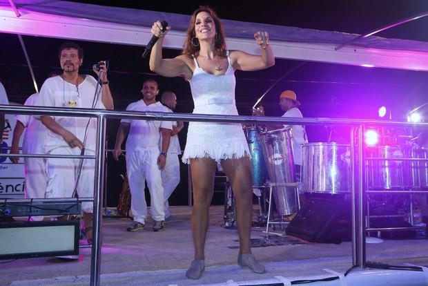 Ivete Sangalo canta em micareta em Aracajú (Foto: Roberto Filho/ Ag. News)