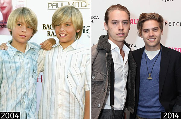 Cole e Dylan Sprouse (Foto: Getty Images)