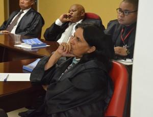 graça almeida, tjd-pb, auditora (Foto: Edgley Lemos / GloboEsporte.com)